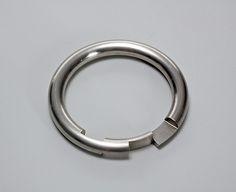 Gijs Bakker, Stainless Steel, Bracelet, 1974