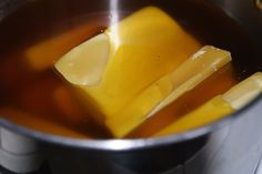 Making Beeswax Candles. Photo by Patti Long, FarmMade beeswax candles
