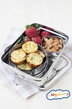 """When you want to add more veggies into your kids' lunchboxes but don't want it to """"look"""" like veggies, these mini carrot and zucchini bites add nutrition and taste delicious! Sometimes, when I plan meals for the week, I find myself wanting to put to use some of the """"leftover veggies, """" but I don't"""