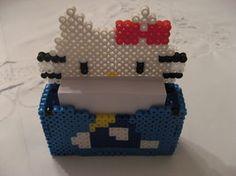 Hello Kitty perler hama beads Paper Holder by sweet-misery788 on deviantART