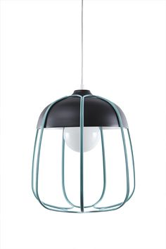 Tull Metal Cage Ceiling Lamp by Incipit Lab made in Italy on CROWDYHOUSE