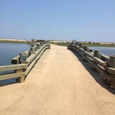 The infamous Dike Bridge. Chappaquiddick
