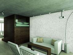 Loft 001 - brick wallpaper