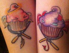 Cupcake tattoo #Cupcake #Tattoo
