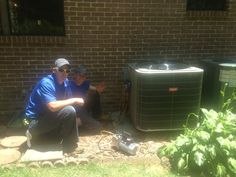 """Happy customer got his home back to a comfortable temperature with a new heat pump. He said, """"HVAC techs Mike & Allan answered all my questions clearly, in detail concerning their process & the operation of unit."""""""