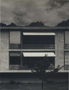 1993 Residential home for the elderly, Masans, Chur, Graubünden, Switzerland. Peter Zumthor.