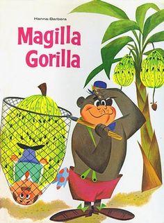 Magilla Gorilla Searching For Bananas (Allan Melvin, Hanna Barbera)  #MagillaGorilla  #Kamisco