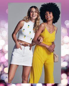 #VemProvar Ideias Fashion, Capri Pants, Style, Parties, Capri Trousers