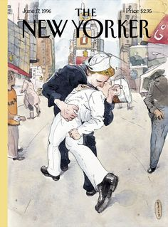 "The New Yorker - Monday, June 17, 1996 - Issue # 3710 - Vol. 72 - N° 16 - Cover ""Don't Ask"" by Barry Blitt"