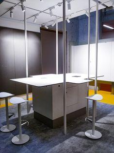 Creative Corner at IMBA - Institute of Molecular Biotechnology in Vienna by studio thörnblom, realised sept. Biotechnology, Office, Studio, Vienna, Divider, Bathtub, Corner, Interior Design, Creative