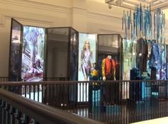 """Unfortunately, it wasn't us... Retail technology: What is next? """"ZetaDisplay turned Burberry flagship store into an interactive and full-of-energy store"""""""