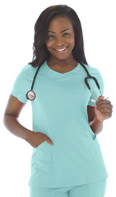 Landau Smart Stretch Womens Bliss Tunic Scoop Neck Solid Scrub Top with Pleat Nursing Wear, Nursing Clothes, Nursing Goals, Scrub Shoes, Landau Scrubs, Stylish Scrubs, Cute Scrubs, Scrubs Uniform, Medical Scrubs