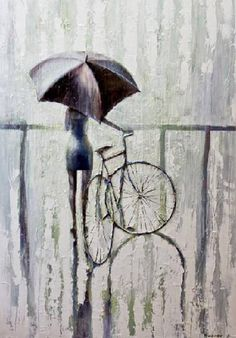 #Female #Cyclist by #Russian #Painter ~ #Twitpic #Niume