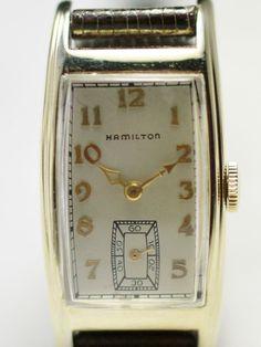 "1936 Hamilton ""Clark"" Vintage Men's Watch"