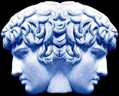 Janus - Roman God of Gates & Doors, Beginnings & Endings, God of Time and, most importantly, the dude in my tattoo ; Greek Gods And Goddesses, The Vivienne, Roman Mythology, Statue, Ancient Romans, Months In A Year, Deities, Religion, Images