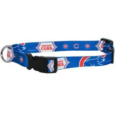 Chicago Cubs MLB Licensed Dog Collar