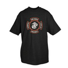 One-Sided Imprinted T-Shirt Marines (Die Hard) - Black M - http://geekz.technology/one-sided-imprinted-t-shirt-marines-die-hard-black-m