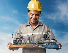 Geração de empregos on Behance