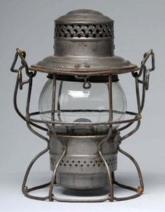 Short Globe Railroad Lantern