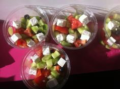 greek salad Greek Salad, Fruit Salad, Lunch, Restaurant, Fresh, Healthy, Food, Gourmet, Fruit Salads