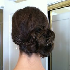Bridesmaids updo by Cindy Phun (side profile) | Yelp