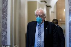 Sen. Bernie Sanders was among the prominent no votes, saying he was against the defense bill 'at a time when we have enormous unmet needs in our country' Democratic Senators, Republican Senators, Daily Mail News, Odd Couples, Government Shutdown, Culture War, Us Politics, Working People, The Millions