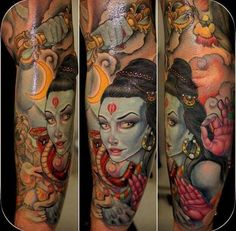 Another great Kali tattoo by Koan