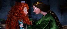 Disney stüdyolarından iskoc prensesi merida güzel kıvırcık turuncu saclaıyla efsane oldu filmin adı cesur