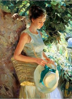 look to the ladies of art alice and gain some wonderful summer style inspiration , vintage country chic Vladimir Volegov