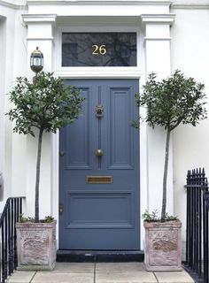 Front Door Ideas Farrow And Ball Blue Gray Front Door Door Design Dark Blue Grey Front Door