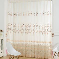 Country sheer curtains with fresh and cute floral patterns are very elegant. The color and pattern are very soft and can give you a good mod when you see it. It can decorate your bedroom, living room and other places. Best Mods, Floral Patterns, Sheer Curtains, Window Treatments, Fresh, Living Room, Country, Elegant, Decoration