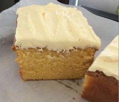 Apple Cake Recipes, Baking Recipes, Snack Recipes, Dessert Recipes, Vanilla Cake Recipes, Healthy Recipes, Snacks, Custard Recipes, Vanilla Custard Cake Recipe