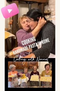Cooking Pasta with Nonna in Rome #AirbnbExperiences