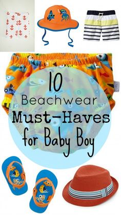 10 Baby Beachwear Must-Haves for Boys (featuring Little Maven!)