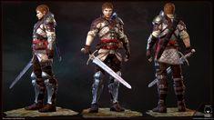 ArtStation - Warrior, Claudius Dsouza