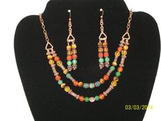 Reiki Infused Colorful Double Strand Crystal by Gemswithapurpose, $24.99