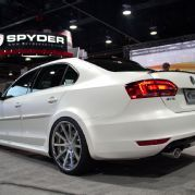 FMS 2014 Volkswagen Jetta Widebody Rear SEMA 2013... Dream car!! 2014 jetta!
