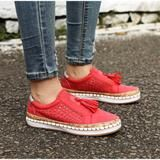 Women Slip On Hollow Out Flats Ladies Breathable Loafers Casual Platform Vulcanized Sewing Sneakers Shoes Clothing Sites, Ladies Slips, Oxford Shoes, Shoes Sneakers, Dress Shoes, Loafers, Platform, Slip On, Flats