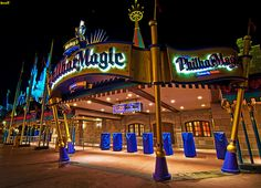 Mickey's PhilharMagic by @Tom Bricker (@Walt Disney World's Magic Kingdom)