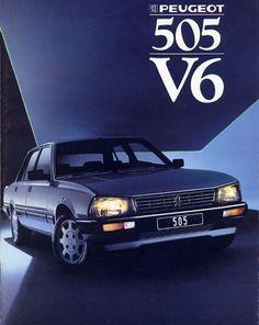 505 Peugeot, Psa Peugeot Citroen, Vintage Cars, Antique Cars, Peugeot France, Auto Retro, Car Advertising, Rally Car, Commercial Vehicle