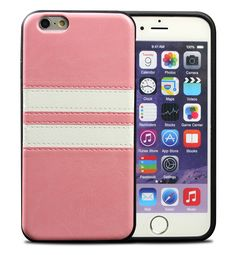 iPhone 6/6S Plus, 6/6S - Sophisticated Eye-Catching Double Band Case in Assorted Colors