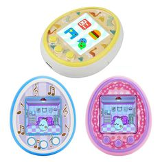 Tamagotchis Funny Kids Electronic Pets Toys Nostalgic Pet In One Virtual Cyber Pet Interactive Toy Digital HD Color Screen E-pet Electronic Toys Pet Shipping, 90s Colors, Virtual Pet, Hobby Toys, Tech Toys, Interactive Toys, Electronic Toys, Animal Games, Pet Tags