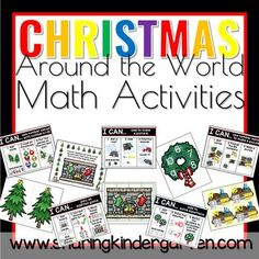 christmas around the world math activities