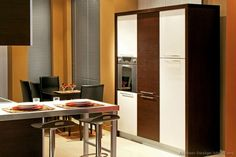 #Kitchen Idea of the Day: Modern Two-Tone Kitchens.