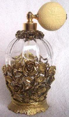 Victorian perfume bottle: