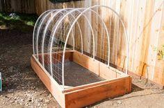 Cómo hacer un invernadero paso a paso para el jardín. - Vida Lúcida
