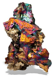 ggeology: Chalcopyrite // Pedro Claim, Goldmyer Hot Springs, King Co… Cool Rocks, Beautiful Rocks, Minerals And Gemstones, Rocks And Minerals, Raw Gemstones, Rock Collection, Mineral Stone, Rocks And Gems, Stones And Crystals