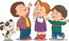 Cartoon children vector image on VectorStock