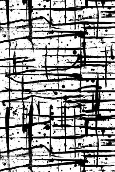 Black and White by pond_ripple. Black paint splatters on a shi… Ink Splatter II. Black and White by pond_ripple. Black paint splatters on a shite background. Drips and scrapes grunge style pattern on fabric, wallpaper, and gift wrap. Black And White Wallpaper, Black And White Background, Black And White Fabric, Black And White Aesthetic, Black White Art, Pink Aesthetic, Black And White Design, Splatter Paint Canvas, Splatter Art
