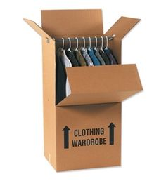 8b1a717dcf5 Wardrobe Box Combo Pack (1 Each Per Case). Moving SuppliesPacking ...